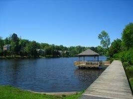 lake Hogan Farms Lake and Gazebo