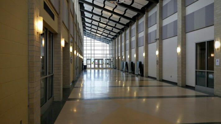 Margaret Pollard Hallway